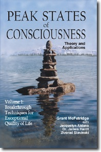 Peak States of Consciousness Vol1 cover